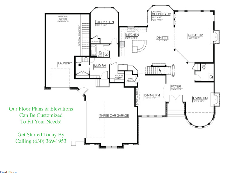Floor plan for 26108 Stewart Ridge Dr, floor 1