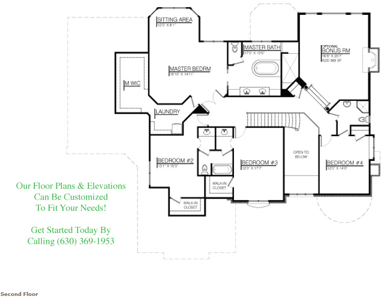 Floor plan for 26108 Stewart Ridge Dr, floor 2